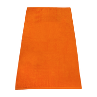 Orange Value Line Color Beach Towel Thumb