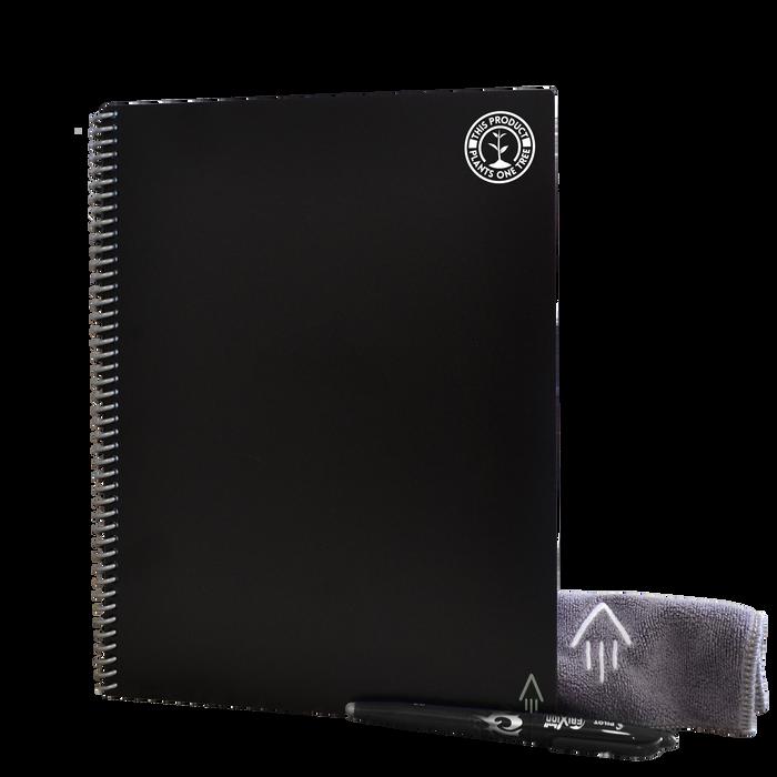 Black #OneTreePlanted Rocketbook Core Letter (Everlast)