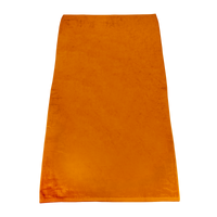 Orange Classic Color Beach Towel Thumb