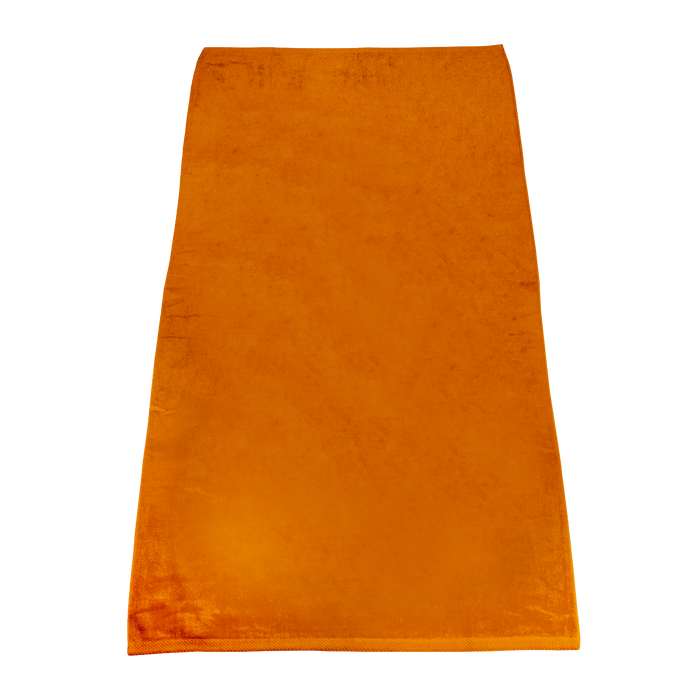 Orange Classic Color Beach Towel