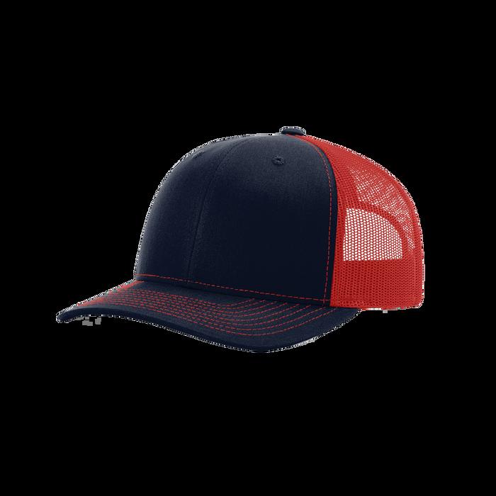 Navy/Red Richardson Trucker Snapback Hat
