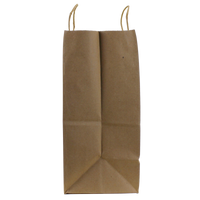 Extra Wide Kraft Paper Shopper Bag Thumb