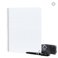 White Rocketbook Fusion Letter Thumb