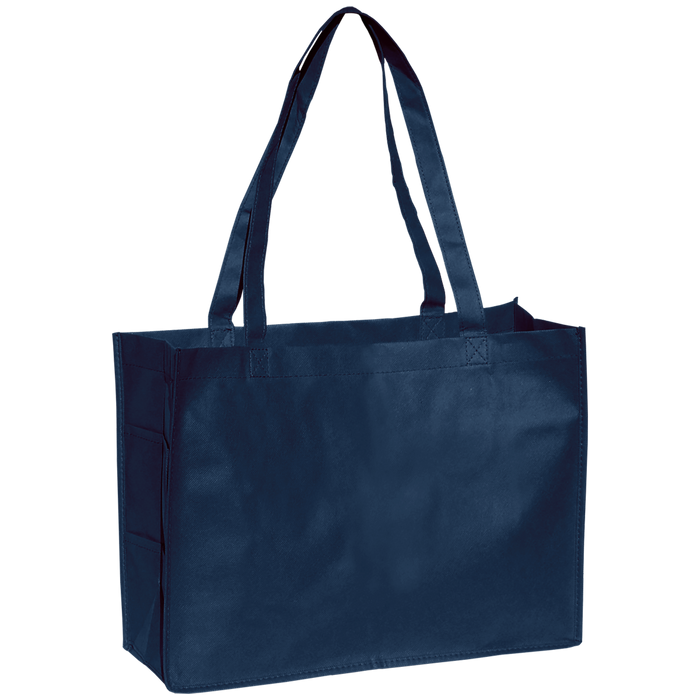 Navy Blue Convention Tote