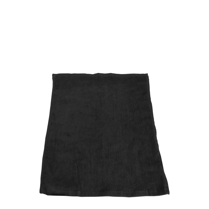 Black Classic Color Rally Towel