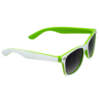 White/Lime Daytona Sunglasses Thumb