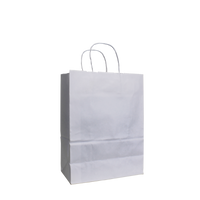 White Small White Paper Shopper Bag Thumb