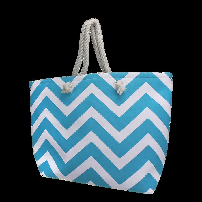 Turquoise Cabana Beach Bag