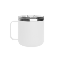 Matte White Stainless Steel Insulated Camper Mug Thumb