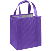 Purple Large Insulated Cooler Tote Thumb