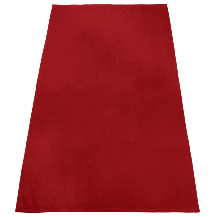 Red Nautica Color Beach Towel