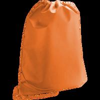 Orange Classic Drawstring Backpack Thumb