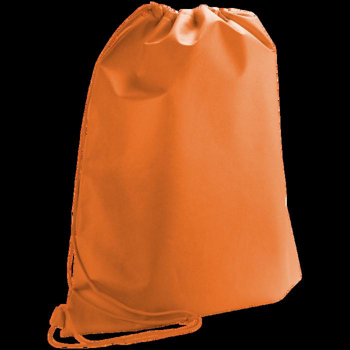 Orange Classic Drawstring Backpack