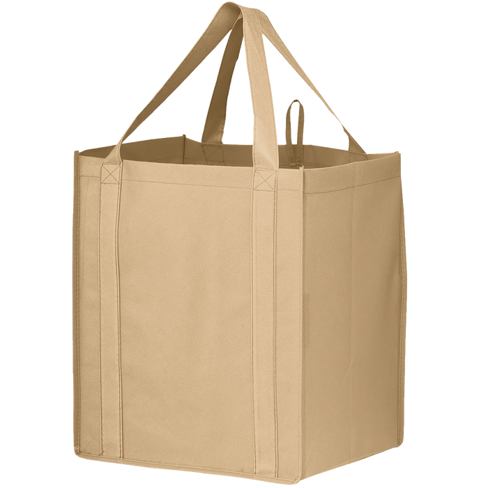 Light Khaki Big Storm Grocery Bag
