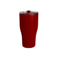 Matte Red Large Stainless Steel Insulated Tumbler Thumb