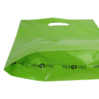 Medium Eco-Friendly Die Cut Plastic Bag Thumb