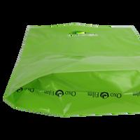 Medium Eco-Friendly Die Cut Plastic Bag Thumb