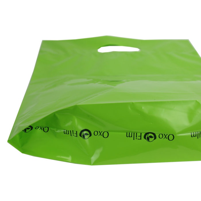 Medium Eco-Friendly Die Cut Plastic Bag