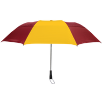 Burgundy/Gold Mercury Umbrella Thumb