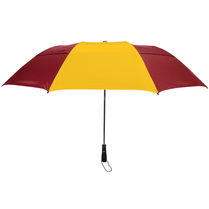 Burgundy/Gold Mercury Umbrella
