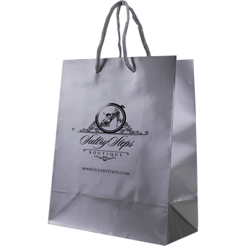 Small Glossy Shopper Bag