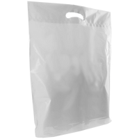 Clear Large Die Cut Plastic Bag Thumb