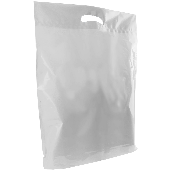 Clear Large Die Cut Plastic Bag
