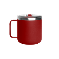 Matte Red Stainless Steel Insulated Camper Mug Thumb