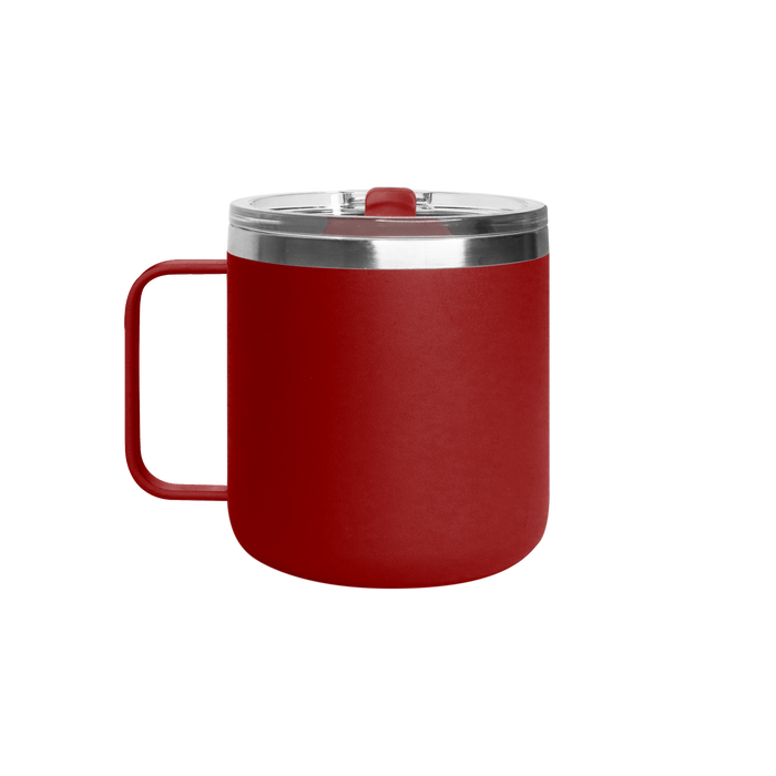 Matte Red Stainless Steel Insulated Camper Mug