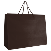 Chocolate Large Matte Shopper Bag Thumb