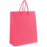 Pink Small Matte Shopper Bag Thumb