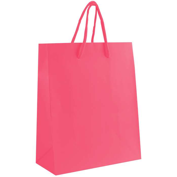 Pink Small Matte Shopper Bag