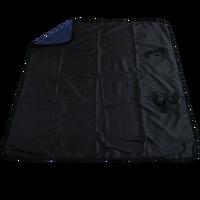 Navy Blue Traveler Fleece Picnic Blanket Thumb