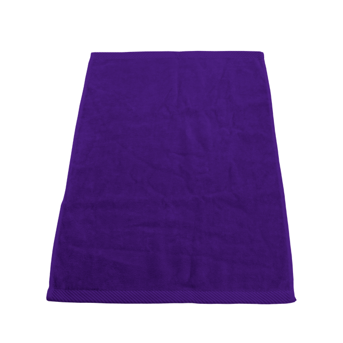 Purple Ultraweight Colored Fitness Towel