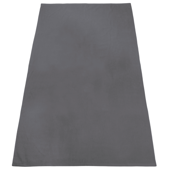 Grey Nautica Color Beach Towel
