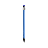 Blue with Blue Ink Chrome Stylus Pen Thumb