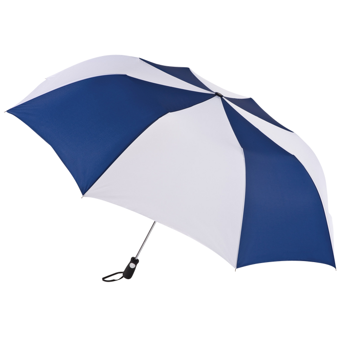 Navy/White Stratus totes® Umbrella