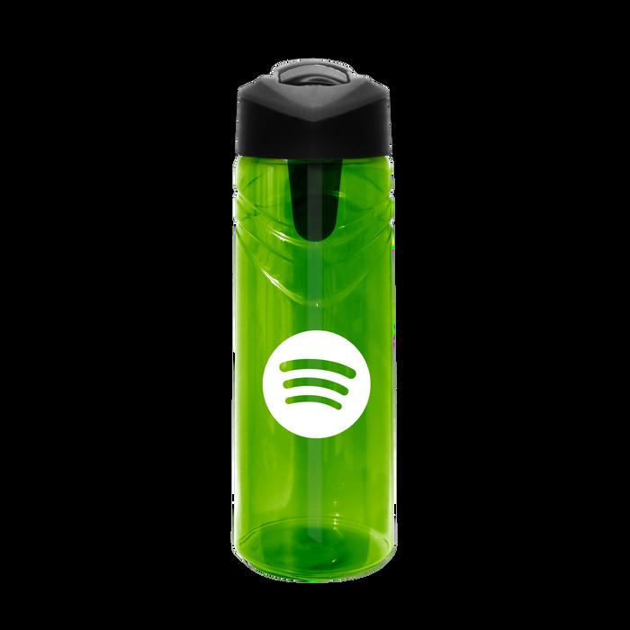 Sport Water Bottle with Flip Up Straw