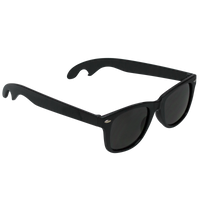 Black Panama Bottle Opener Sunglasses Thumb