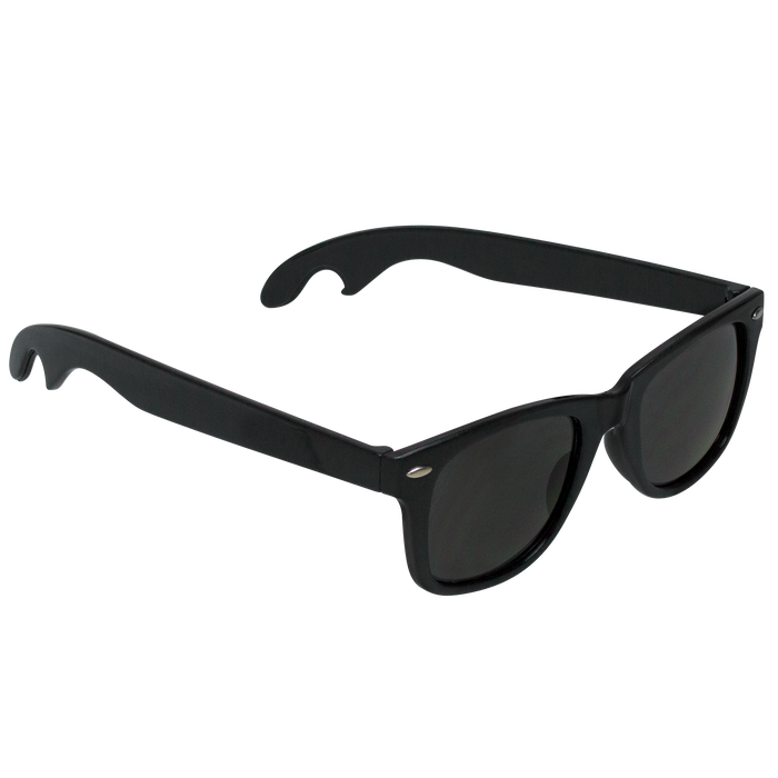 Black Panama Bottle Opener Sunglasses