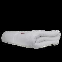 High Tide White Beach Towel Thumb