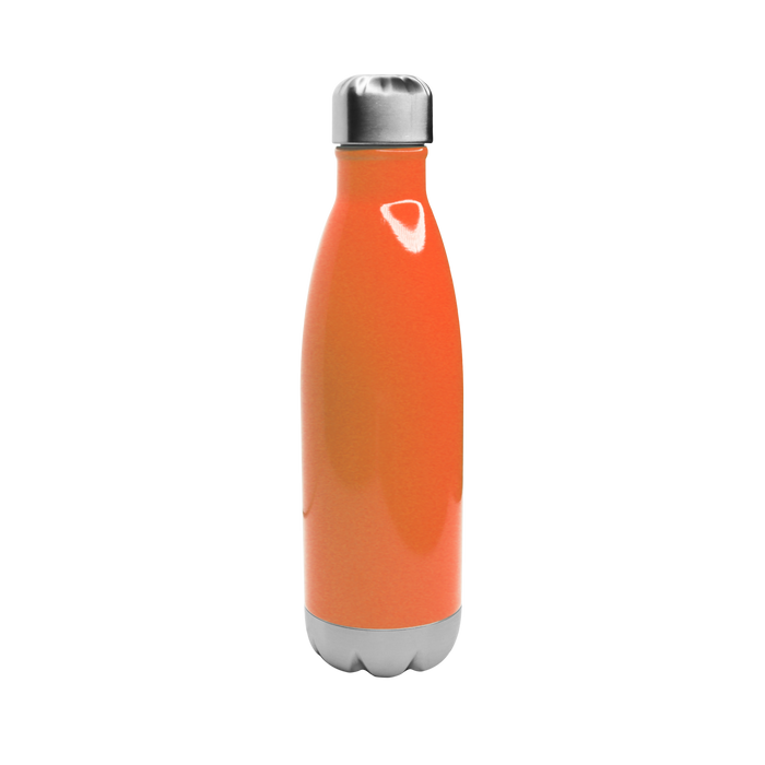 Neon Orange Vacuum Insulated Thermal Bottle