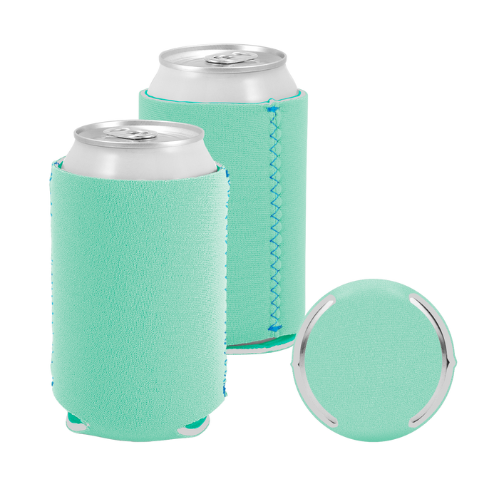 Ice Green Premium Collapsible Neoprene Koozie