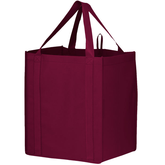 Burgundy Big Storm Grocery Bag