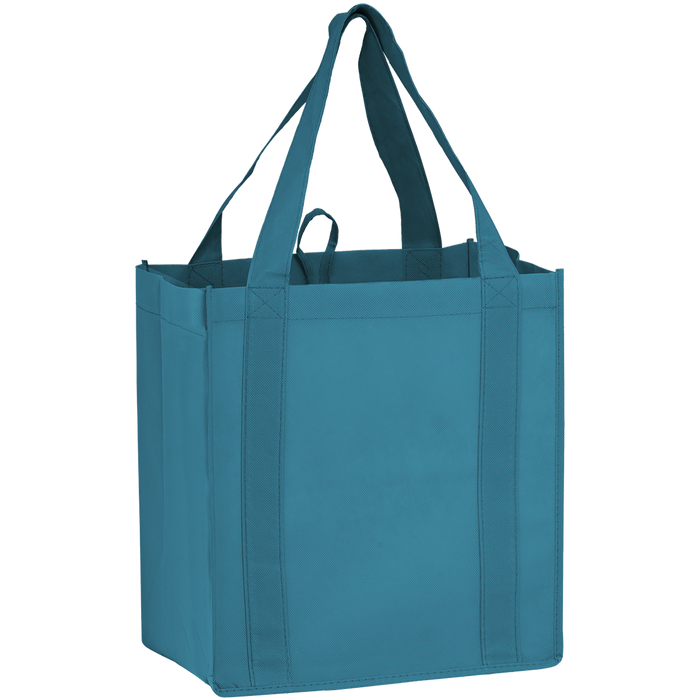 Sea Blue Little Storm Grocery Bag