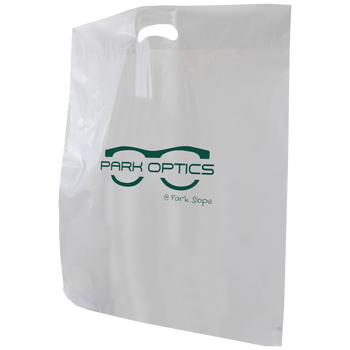 Recyclable Extra Large Die Cut Plastic Bag