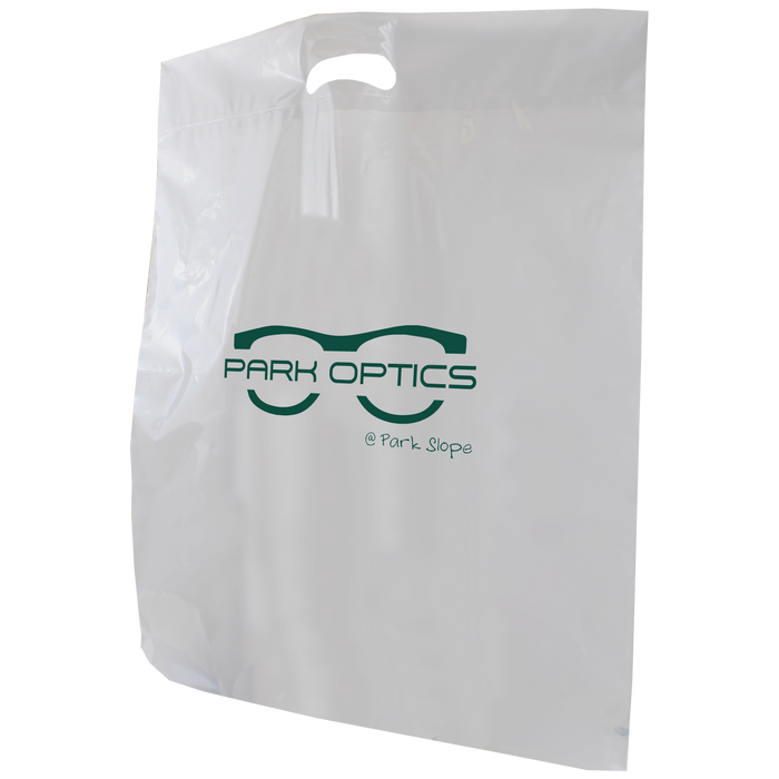Extra Large Die Cut Plastic Bag