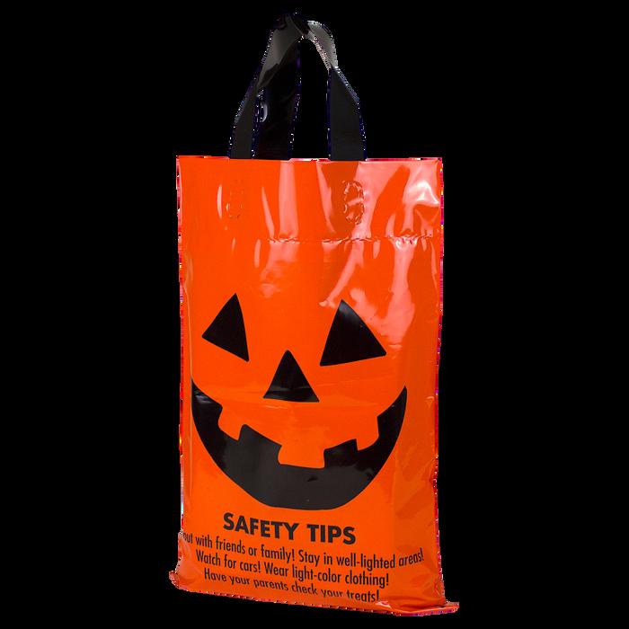 Jack-O-Lantern Safety Tips Bag