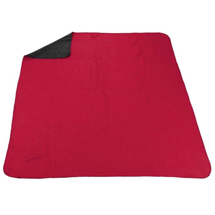 Red/Grey (20536) Two Tone Euro Throw