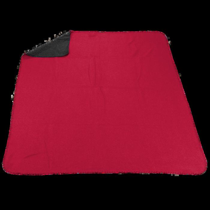 Red/Grey (20536) Two Tone Euro Throw